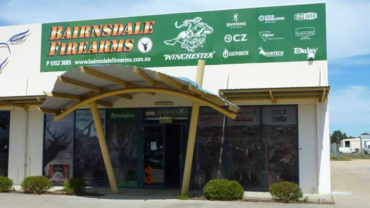 Bairnsdale Firearms and Accessories, Unit 2, 493 Main Street, Bairnsdale