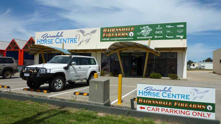 Bairnsdale Firearms and Bairnsdale Horse Centre