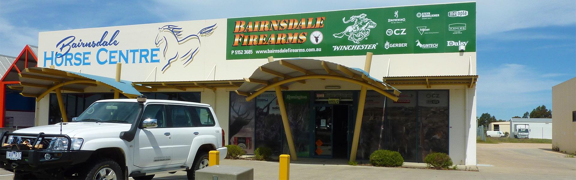 Bairnsdale Firearms, Unit 2, 493 Main Street, Bairnsdale